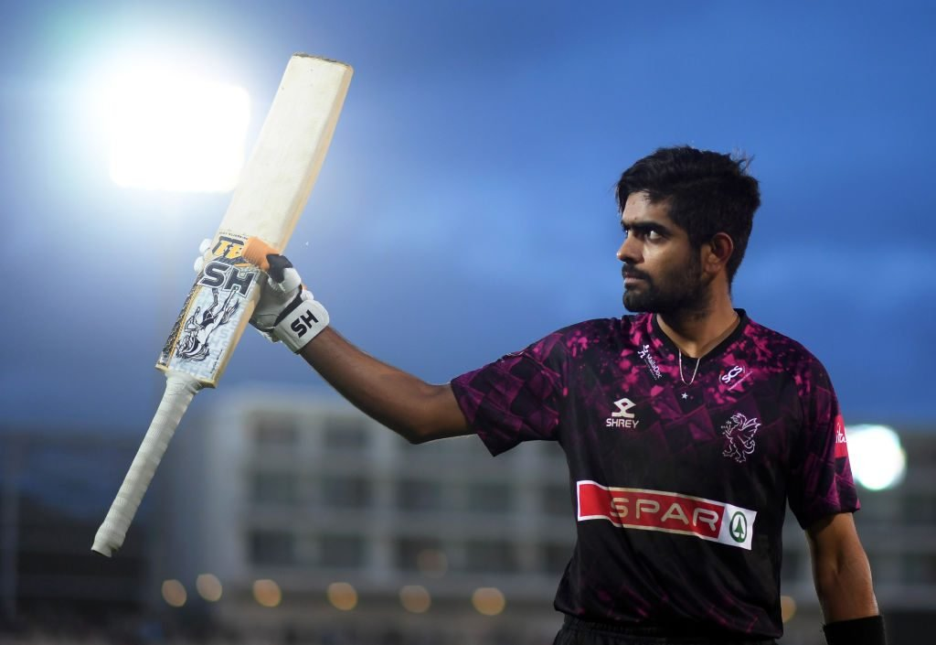Babar Azam was an exhilarating presence for Somerset