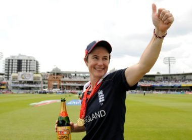 Claire Taylor, Wisden's first lady