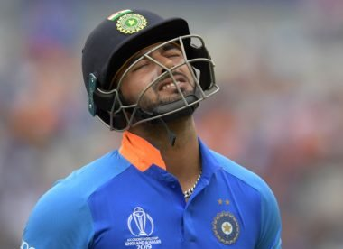 Rishabh Pant suffers concussion after being hit on the helmet