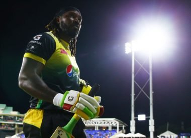 Gayle ton in vain as Patriots hunt down 242 in record-breaking T20 game