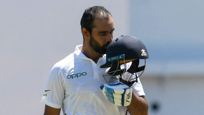 Hanuma Vihari dedicates maiden international ton to late father