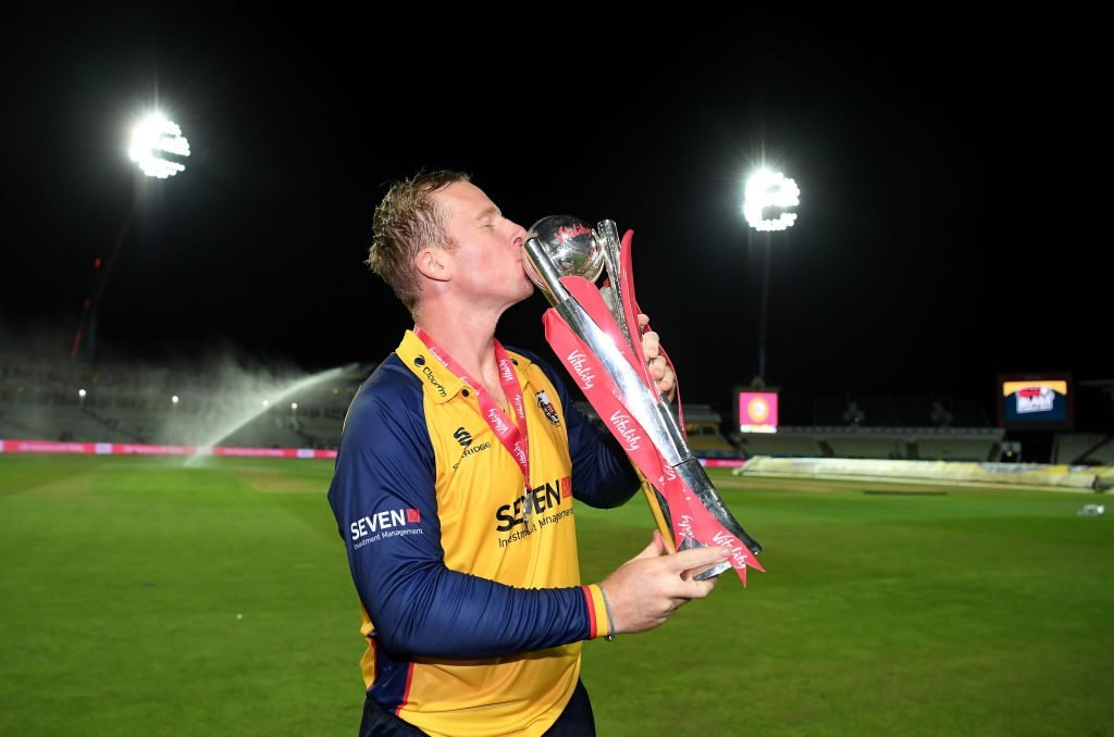 Simon Harmer was the man for the big moments at the T20 Blast