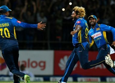 Malinga weaves his magic with historic double hat-trick