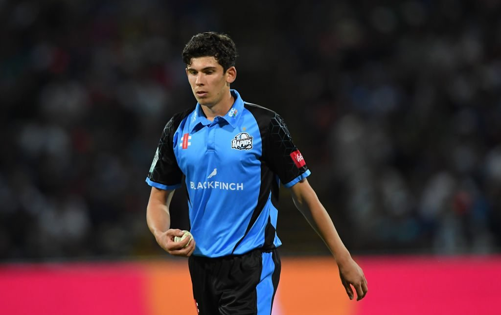Pat Brown took 17 wickets in the T20 Blast this year,