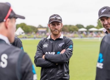 Kane Williamson to miss T20Is against England due to hip injury