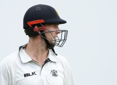 Mitch Marsh punches wall, injures hand