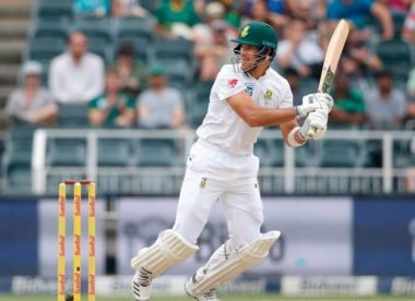 Markram ruled out of third Test with wrist injury after lashing out at a 'solid object'