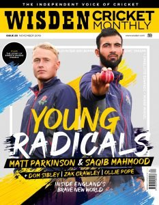 Wisden Cricket Monthly issue 25 cover