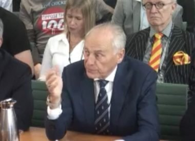 'Oppose The 100' protestors asked to remove t-shirts at ECB parliamentary inquiry