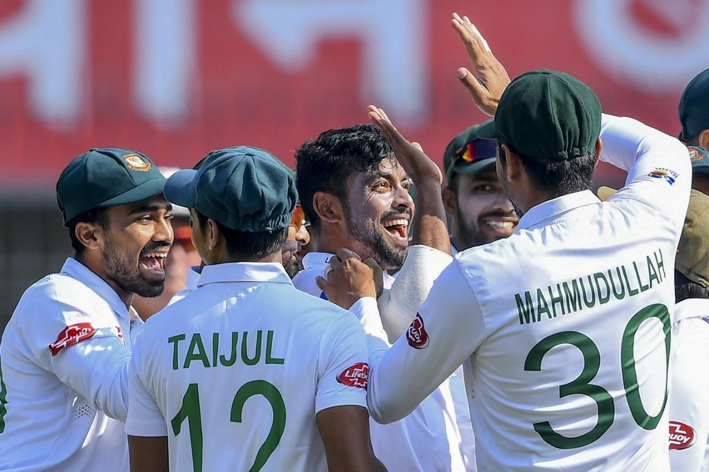 Abu Jayed was the lone star for Bangladesh, taking four wickets