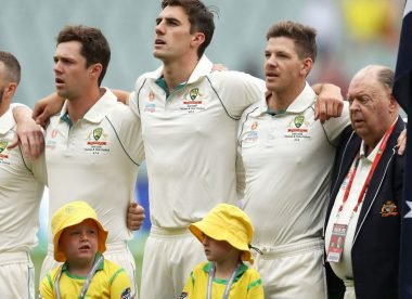 Australia without concussion substitute for second Test