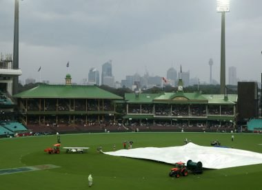 Forget the interval, the ICC's rain rule cost Australia the first T20I