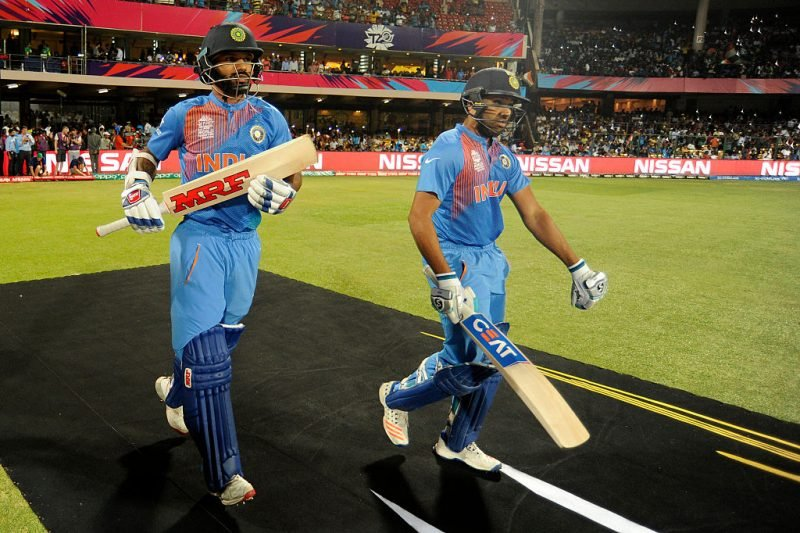 Shikhar Dhawan and Rohit Sharma – the most successful T20I opening pair