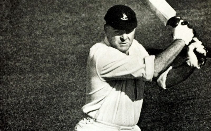 Dudley Nourse scored 2,960 runs from 34 Tests at an average of 53.81 for South Africa