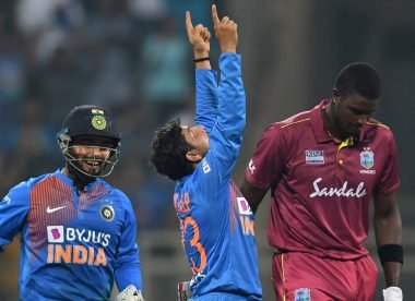 Stats: Kuldeep Yadav creates history with hat-trick against West Indies
