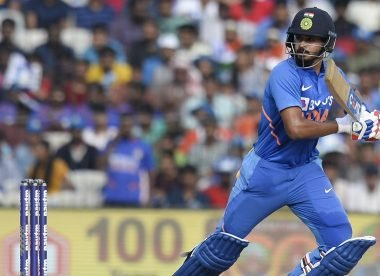 Iyer takes Chase to the cleaners, India score 31 in an over