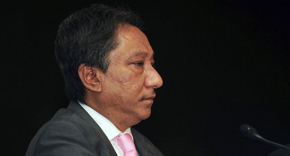 Bangladesh board president Nazmul Hasan