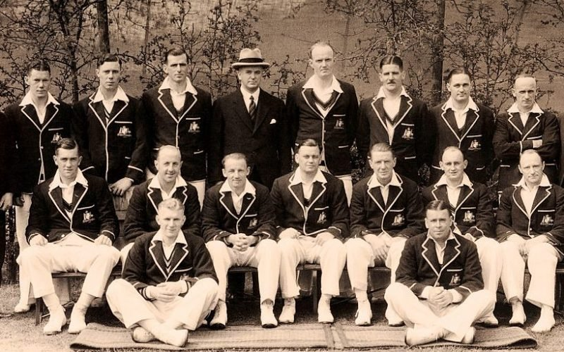The Australian cricket team in England, circa 1934