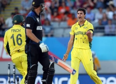 Men's ODI spells of the decade, No.2: Mitchell Starc breathes fire in defeat