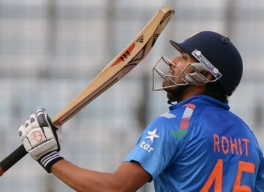 Men's ODI innings of the decade, No.1: Rohit pounds Sri Lanka to claim ODI summit