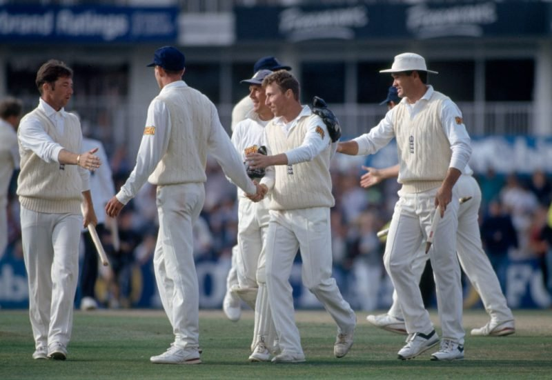 England beat Australia by 161 runs in the 1993 Test at The Oval