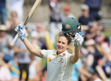 Women's innings of the decade, No.2: Ellyse Perry finds pink-ball perfection