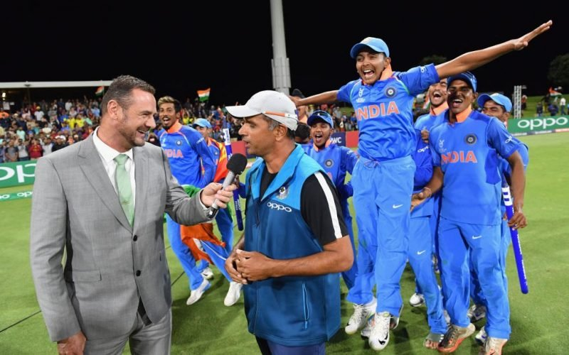 India U19 won the 2018 World Cup