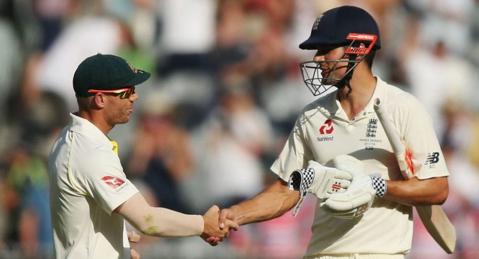 Alastair Cook and David Warner