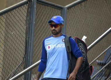 Reports: Shikhar Dhawan ruled out of New Zealand T20Is with shoulder injury