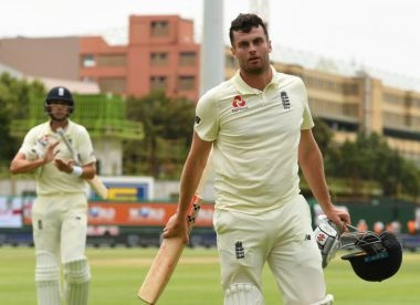 Dom Sibley slept 'terribly' before maiden Test ton