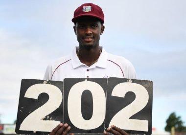 Wisden's men's Test innings of 2019, No.4: Holder's monumental 202*