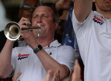 Billy The Trumpet to retire from Barmy Army duty