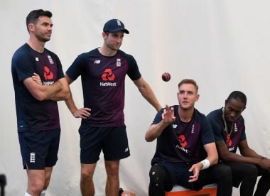 Which England quick should miss out for the second Test against South Africa?