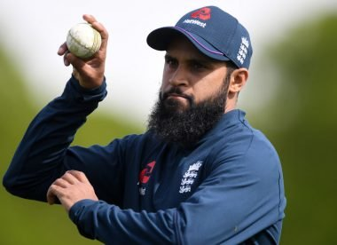 Bowling leg-spin with Adil Rashid