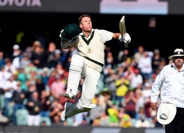 Wisden's men's Test innings of 2019, No.5: David Warner comes back with a bang