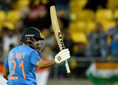 How Manish Pandey made the most of his lone long-awaited chance