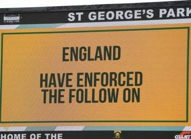Stats: England enforce rare away follow on