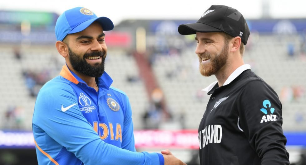 Captains of India and New Zealand, Virat Kohli and Kane Williamson