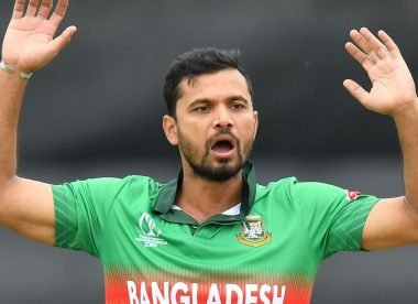 Bangladesh board offers Mashrafe Mortaza 'grand farewell', but he isn't interested