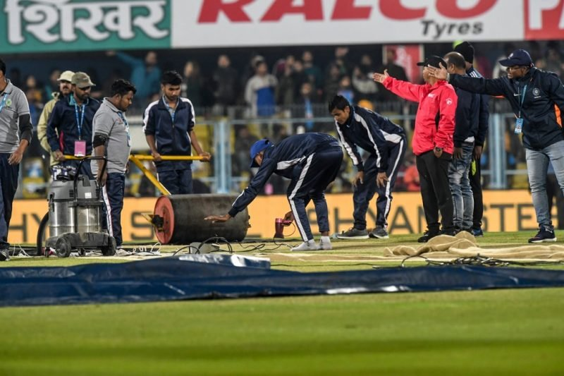 Gautam Gambhir was disappointed about the damp patch