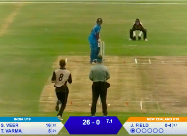 Watch live: India U19 v New Zealand U19