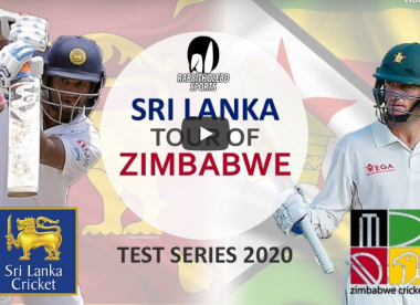 Watch live: Zimbabwe v Sri Lanka, Test series, live stream