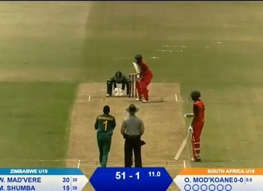 Watch live: South Africa U19 v Zimbabwe U19