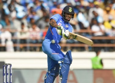 Injury concern for Shikhar Dhawan after blow to ribs