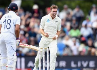 Southee breaches unprecedented mark in head-to-head with Kohli