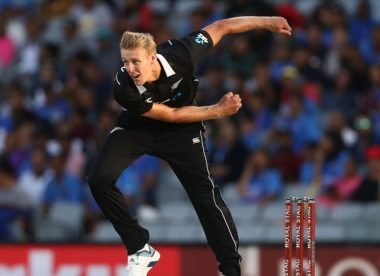 Who is New Zealand's Kyle Jamieson?