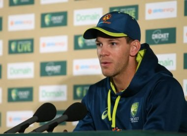 'Coronavirus bigger than cricket, needs to be taken very seriously' – Paine backs sporting cancellations