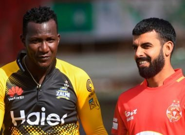 Daren Sammy relinquishes captaincy mid-season to become Peshawar Zalmi head coach