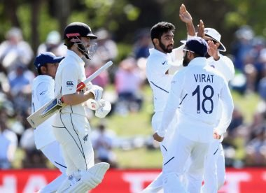 Virat Kohli could be in trouble after animated send-offs in Christchurch