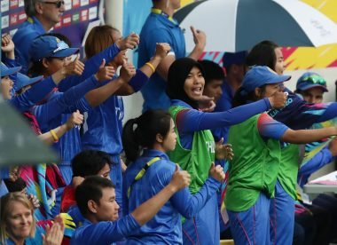 Thailand hit one of the highest scores of the T20 World Cup against Pakistan